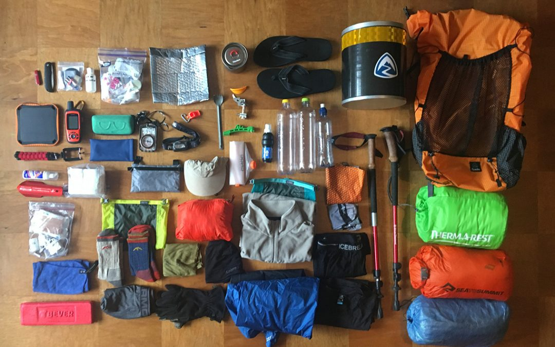 My High Sierra Gear List