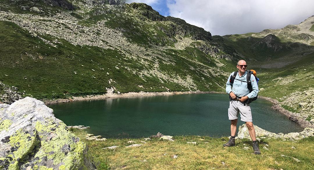 TMB Day 2: a Long Climb to the Lakes