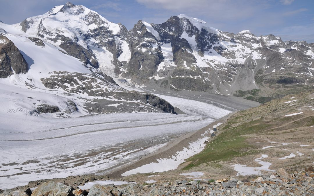 Back to the Ice Age: the Morteratsch Glacier
